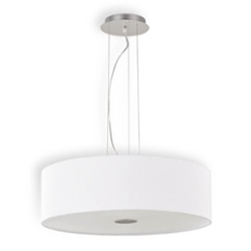 Ideal Lux WOODY SP5 NERO lampe suspendue noir