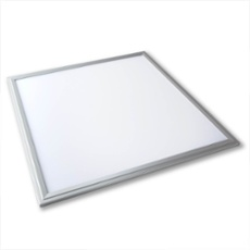 Lumego SIRIUS LED Panel silber 60 x 60cm, 3000K warmweiß