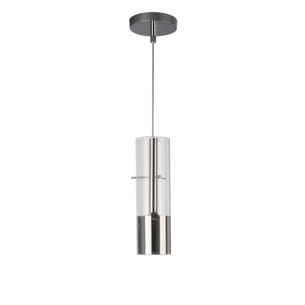 Lirio Pendant Light Tubuled 1 Spotlight Chrome