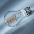 Philips Classic LEDbulb 6-60W E27 827 A60 clear FIL , Item no. 74913