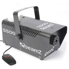 BeamZ S500 Smoke Machine incl 250ml fluid, Réf. 30418