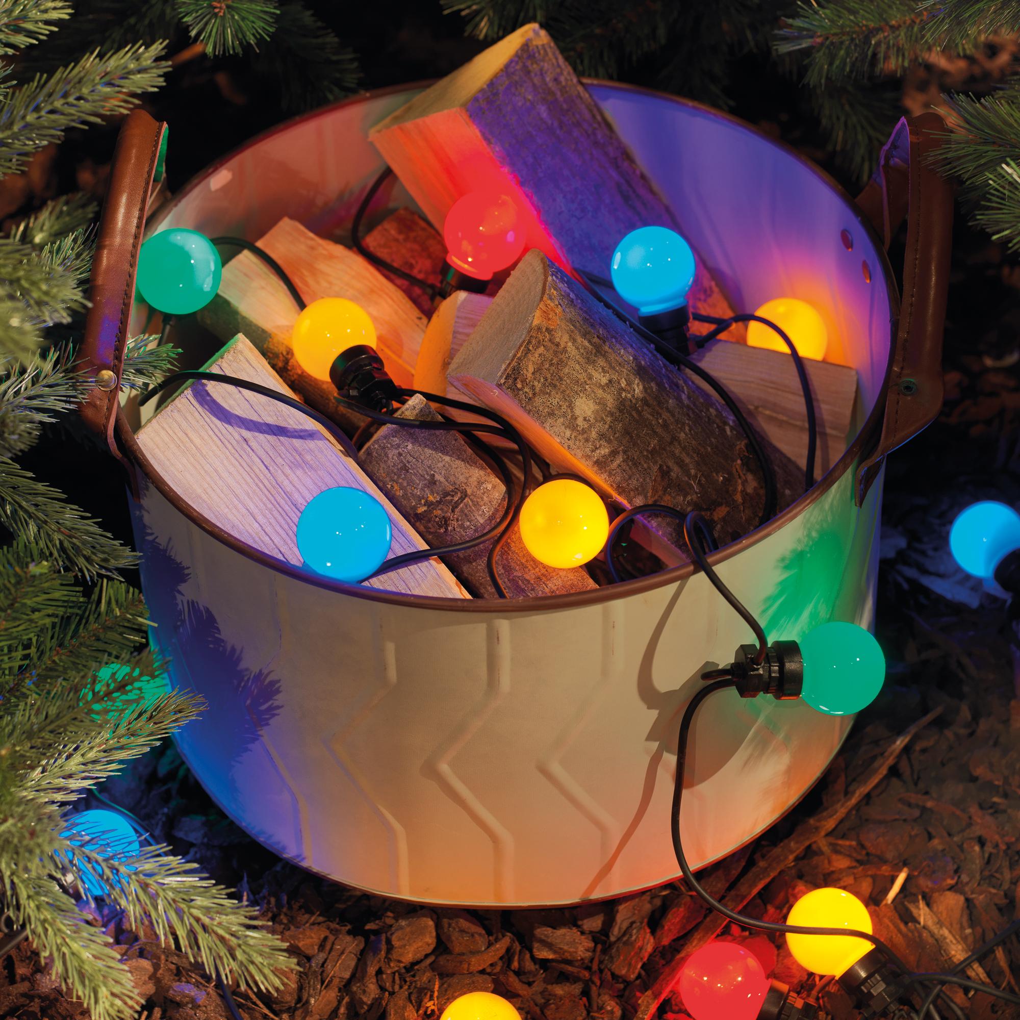 KAEMINGK Lumineo LED-Partylichterkette multicolor Starter-Set 490101