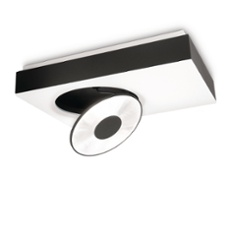 Lirio ceiling light Circulis,1 spotlight