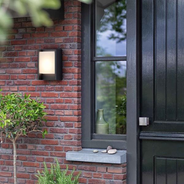 philips mygarden wandleuchte arbour 6w im f hrenden led shop von lumitronix. Black Bedroom Furniture Sets. Home Design Ideas