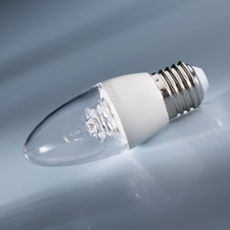 Osram LED SUPERSTAR CLASSIC B 40 5.7W 827 E27 CL, Item no. 73239
