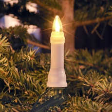 LED tree chain top bulb warmwhite