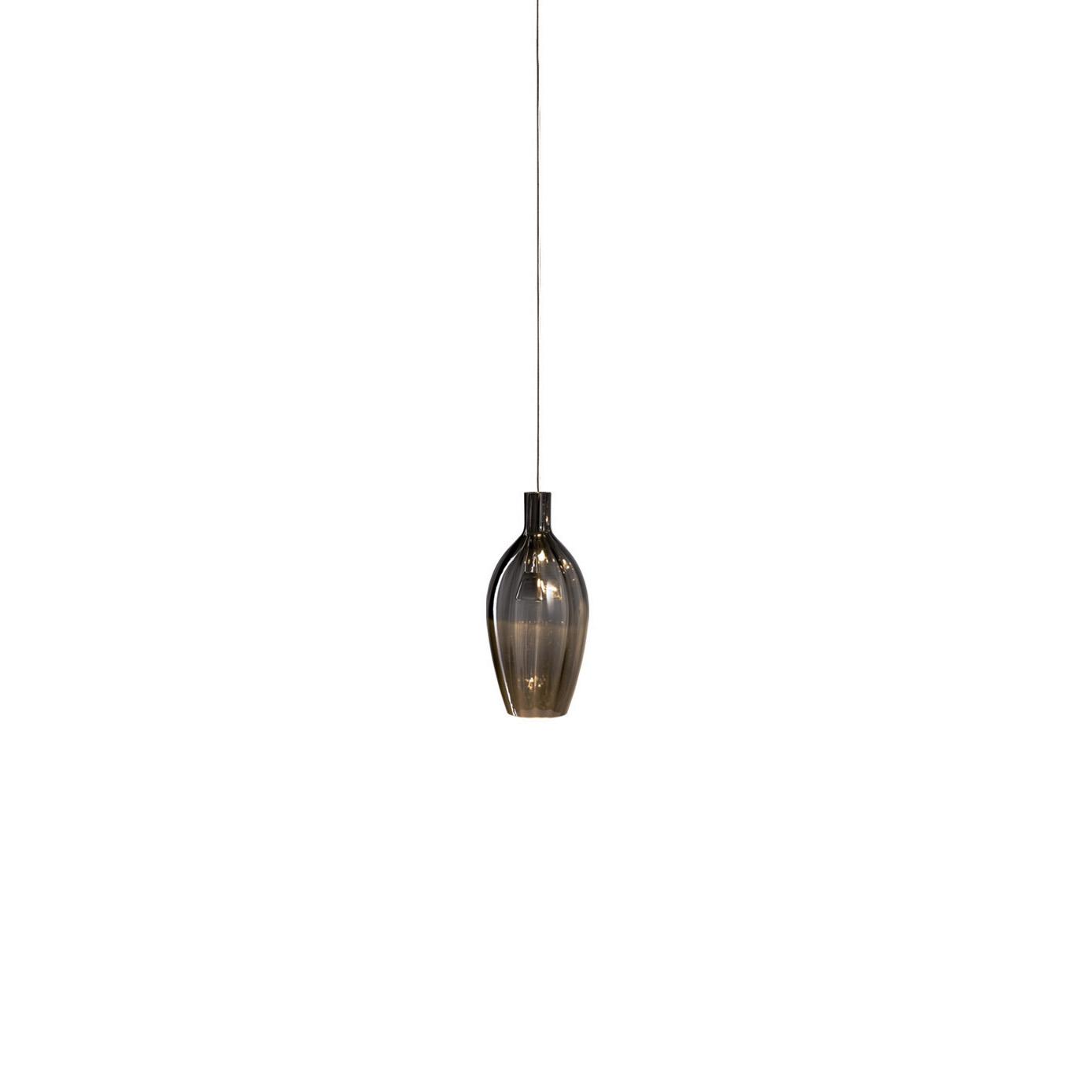 STENG LICHT GmbH Steng LED-Pendelleuchte GLORI-A O Kristallglas X1010-NG-GGA-O