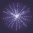 LED Lichterball, 280 weiße LEDs, mit Leuchteffekt, ArtNr. 30285