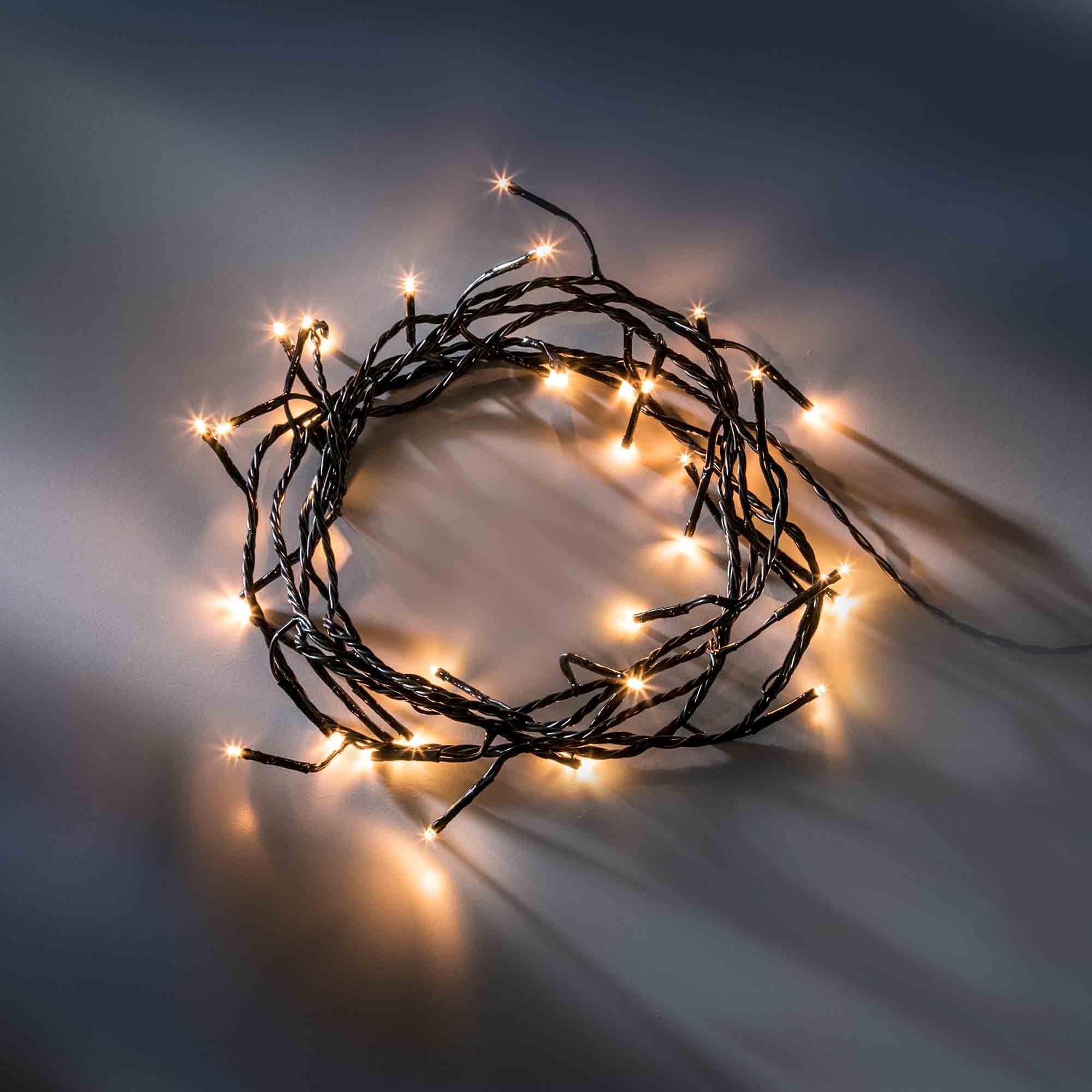 KAEMINGK Lumineo LED-Lichterkette mit acht Funktionen, klassisch warm, 36 m, 480 LEDs 493088