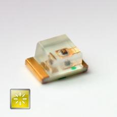 Superbright SMD LED yellow 50mcd 120�  2.0V