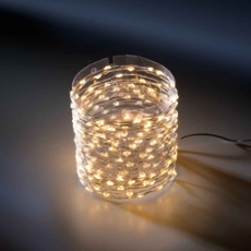 LED Micro Chain of Lights classic warm silver, Item no. 31293