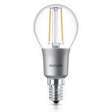 Philips Classic LEDluster 3-25W E14 827 P45 claire DIM, Réf. 74935