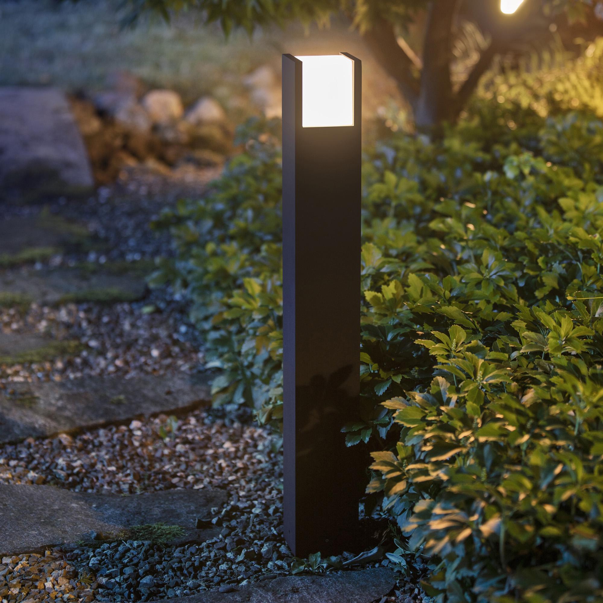 Philips Hue White Fuzo LED-Wegeleuchte, schwarz 1744830P7