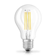 Osram LED RETROFIT P40 4W E27 clear non dim, Item no. 73428