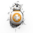 3D Wall light Star Wars BB8, Item no. 43128