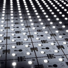 LED Matrix mini, 24V white 5x5, 100 LEDs (1700lm), 4000K