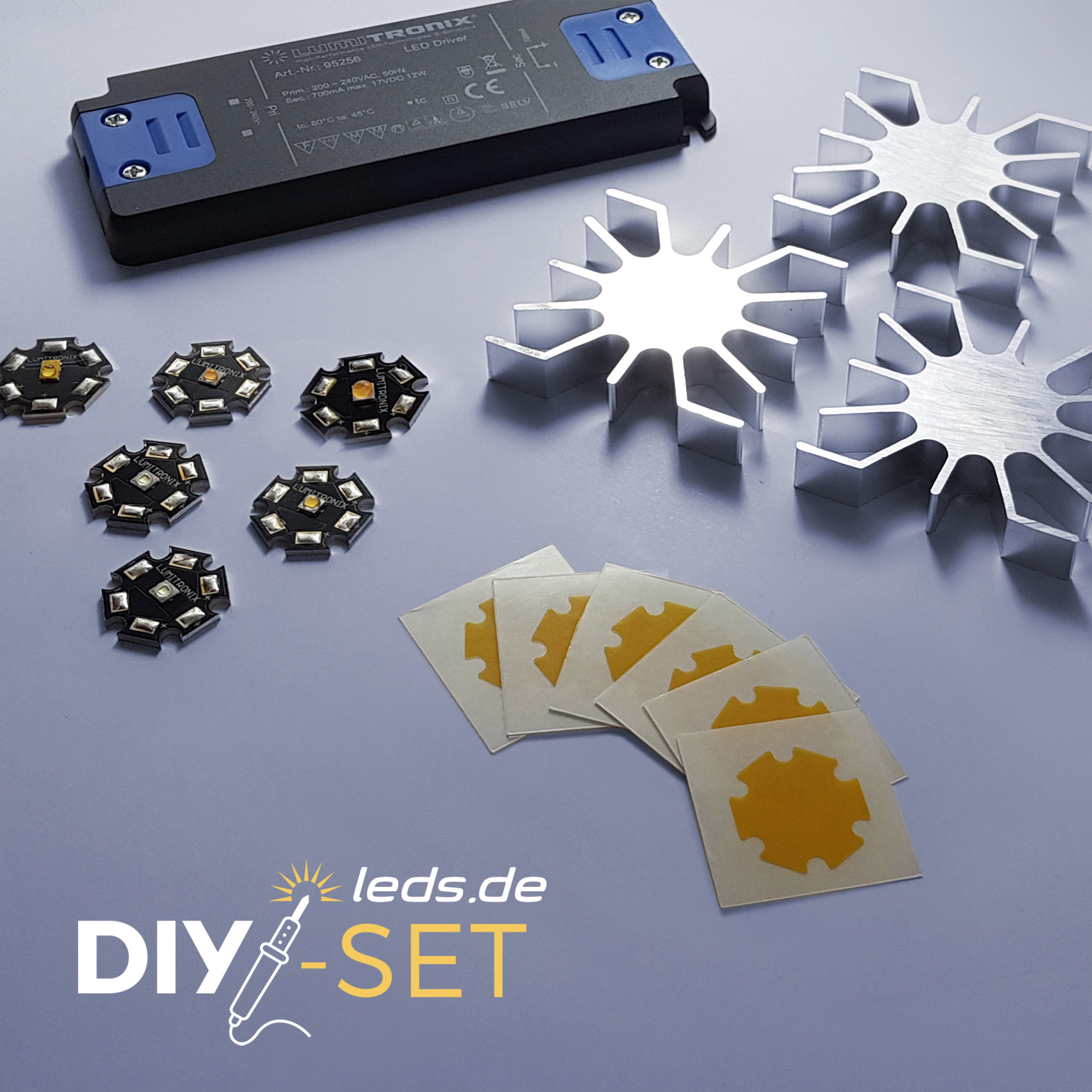 LUMITRONIX LEDs auf Starplatine Bastler-Set DIY-Kit 36868