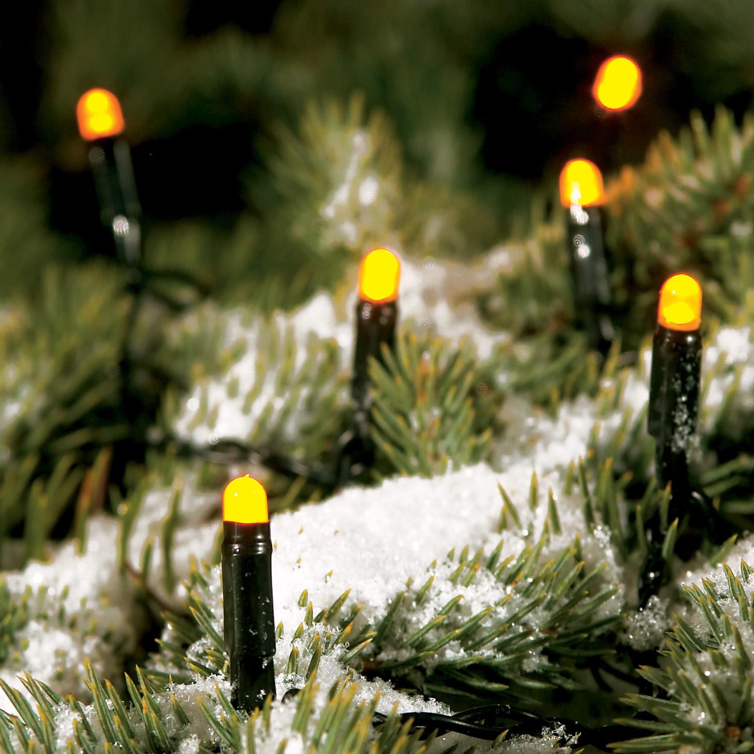 Konstsmide LED-Lichterkette gelb, 29m (120 LEDs) 3612-000