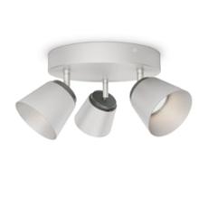 Philips myLiving Dender Spot grey 3x330lm