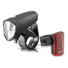AXA Greenline 15 LED bike light set, Item no. 31028