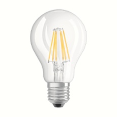 Osram LED RETROFIT CLASSIC A 60 6W 827 E27 CL, Item no. 73199