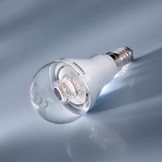Toshiba E-Core LED Ampoule E14 6W, blanc chaud, claire, Réf. 71858