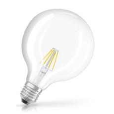 Osram LED RETROFIT GLOBE 40 4W 827 E27, ArtNr. 73432