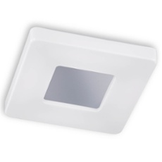 Honsel ceiling light Cookie, square 47x47 cm