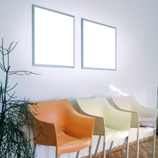Ultraslim LED Panel, 360 LEDs, 60 x 60cm, 72W