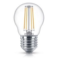 Philips Classic LEDluster 4-40W E27 827 P45 clear, Item no. 74934
