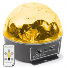 BeamZ Mini Star LED Ball Sound RGBWAP IRC 6 x 3W, ArtNr. 30403