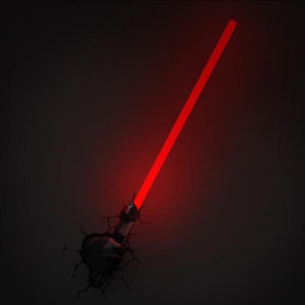 3d Wall Light Star Wars Darth Vader Lightsaber The