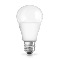 Osram LED STAR CLA40 5W frosted E27, Item no. 74700