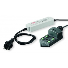 dot-spot power supply 24V, 90W, 4-way distributor, Item no. 43814