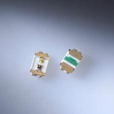 Rohm 0402 SMD LED grün 35mcd 120° 2.2V