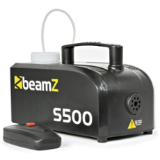 BeamZ S500 Plastic Smoke Machine incl. 250ml fluid, Réf. 30419