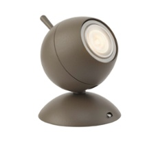 Lirio table lamp Retro Planet, orange orange