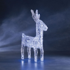 LED figure (deer) with white LEDs