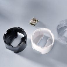 Carclo Lensholder round for Cree, transparent transparent