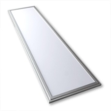 Lumego SIRIUS LED Panel silver 120 x 30cm warmwhite