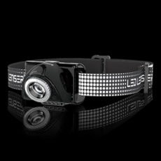LED LENSER® SEO7R Head lamp, black black