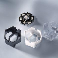 Carclo Lensholder hexagonal for Luxeon and Seoul black