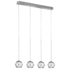 WOFI pendant light FULTON 4-flames