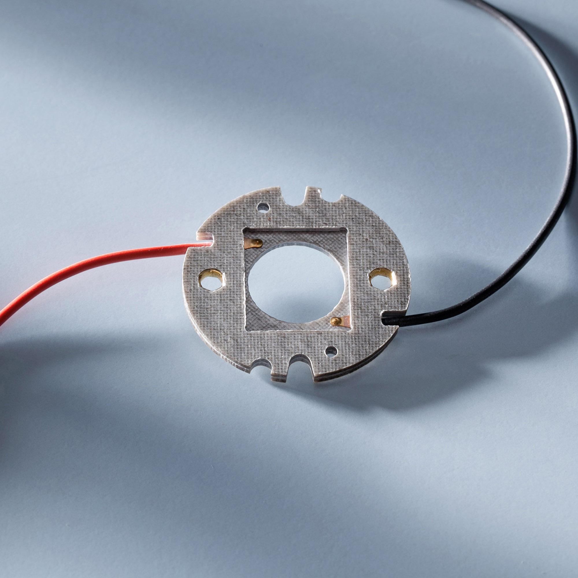 Bender & Wirth GmbH & Co. KG Bender&Wirth Anschlusselement für Nichia COB-B Familie 19x16mm, Type 036/048/060/072 438 Typ L1 438/44482/TypL1
