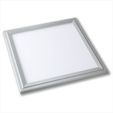 Lumego SIRIUS LED Panel silber 30 x 30cm, 3000K warmweiß