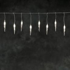 LED System 24V - Eiszapfenkette warmwei� 50 LEDs