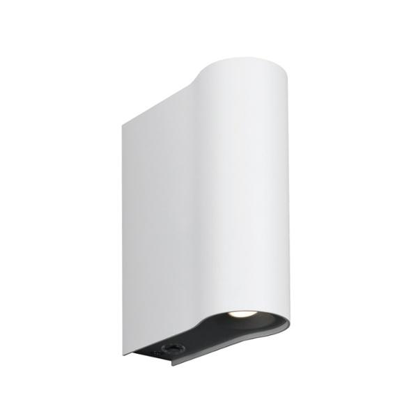 lampe murale led podium lyon 2x2 5w led et produits led dans la boutique leader led lumitronix. Black Bedroom Furniture Sets. Home Design Ideas