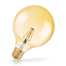 Osram LED VINTAGE 1906 DIM GLOBE 50 7W 824 E27 GOLD
