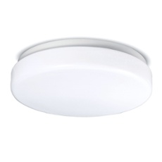 LG Oyster Wall and Ceiling Light with detector17W warmwhite