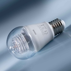 Osram LED STAR CLA40 5W 827 clear E27, Item no. 74703